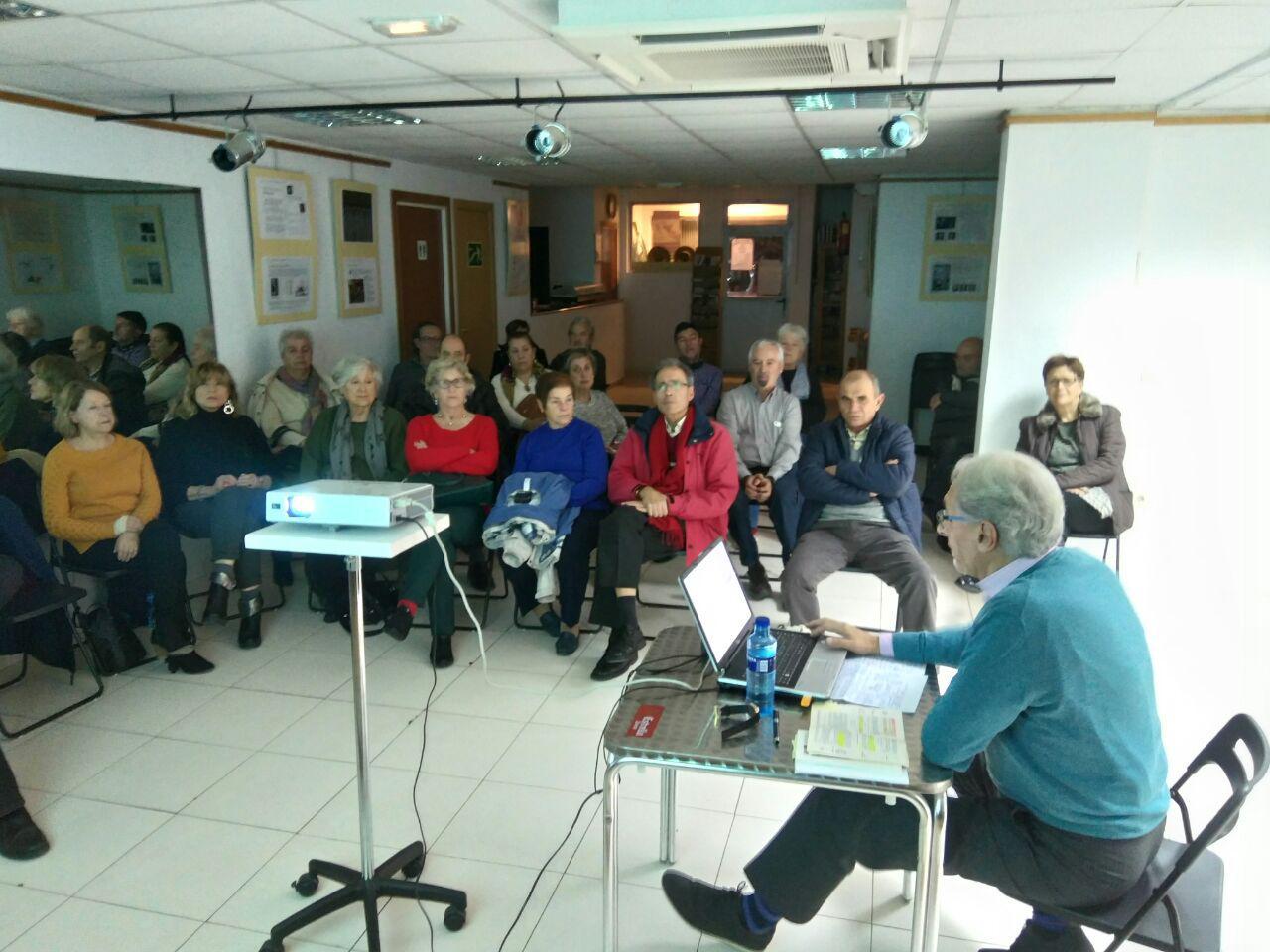 Charla sobre laicismo en la Casa de Andalucía