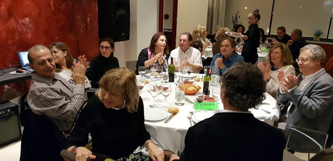 La Asociación celebró su tradicional Cena Laica