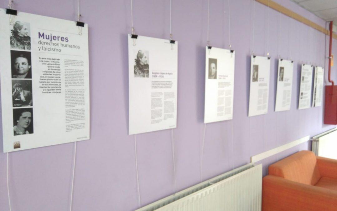 Inaugurada exposición sobre Mujeres, Derechos Humanos y Laicismo